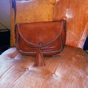 Authentic Patrisha Nash Crossbody Leather Bag